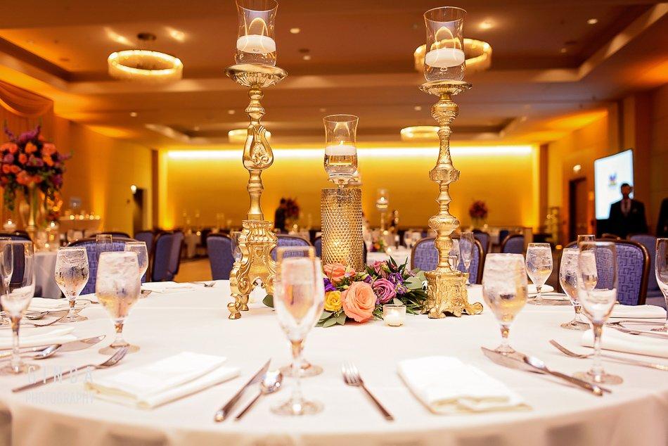 Renaissance Hotel Schaumburg Indian Wedding Reception Decor