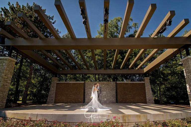 top Schaumburg wedding photography in Praire Center of Arts