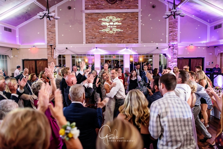Guests Having Fun At Chandlers Schaumburg Wedding