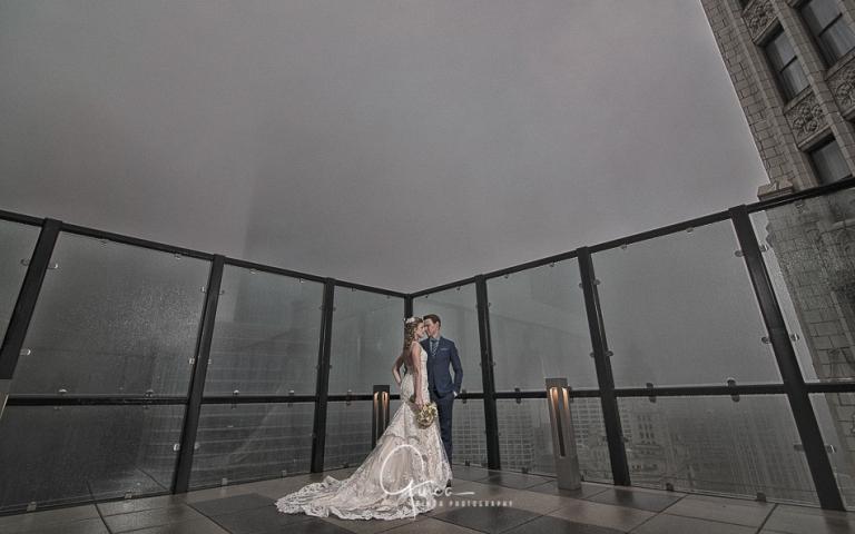 luxurious wyndham grand chicago wedding