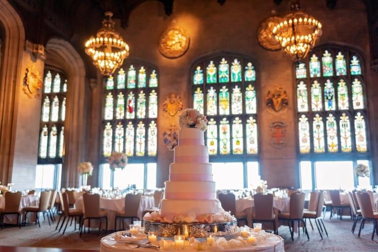 Chicago wedding venues wedding cake